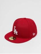 New Era MLB Basic LA Dodgers 59Fifty Cap Scarlet/White