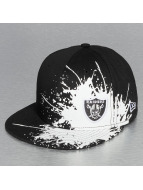New Era Fitted Cap Splatways Flawless Oakland Raiders 59Fifty schwarz