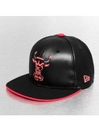 New Era Fitted Cap Chicago Bulls schwarz