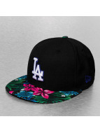 New Era Fitted Cap LA Dodgers schwarz