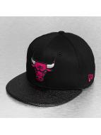 New Era Fitted Cap Ballpeak Chicago Bulls schwarz