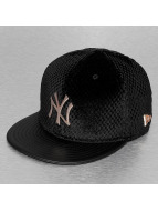 New Era Fitted Cap MLB Lux Mix NY Yankees schwarz