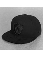 New Era Fitted Cap Poly Tone Oakland Raiders schwarz