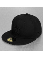 New Era Fitted Cap Poly Tone NY Yankees schwarz