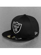 New Era Fitted Cap NFL Trainer Oakland Raiders schwarz