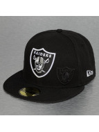 New Era Fitted Cap NFL Oakland Raiders Sideline schwarz