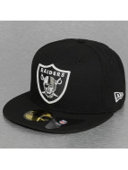 New Era Fitted Cap Glow In The Dark Oakland Raiders schwarz