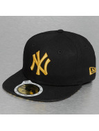 New Era Fitted Cap Leopard New York Yankees 59Fifty schwarz