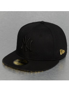 New Era Fitted Cap Leopard New York Yankees schwarz