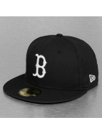 New Era Fitted Cap Basic Boston Red Sox schwarz