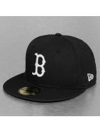 New Era Fitted Cap Basic Boston Red Sox schwarz