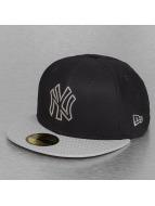 New Era Fitted Cap Diamond Basic New York Yankees schwarz