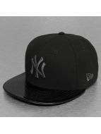 New Era Fitted Cap INJ Metallic New York Yankees 59Fifty schwarz