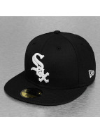 New Era Fitted Cap JD League Basic Chicago White Sox 59Fifty schwarz