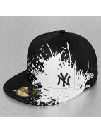 New Era Fitted Cap Splatways NY Yankees 59Fifty schwarz