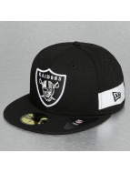 New Era Fitted Cap Side Block Oakland Raiders 59fifty schwarz