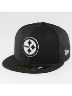 New Era Fitted Cap Pittsburgh Steelers schwarz