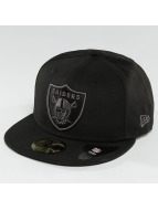 New Era Fitted Cap Black Graphite Oakland Raiders 59Fifty schwarz