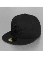 New Era Fitted Cap NBA Black On Black LA Lakers 59Fifty svart