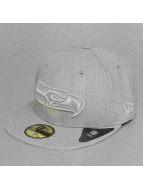 New Era Fitted Cap Tonal Heather Seattle Seahawks 59Fifty szary