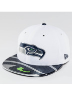 New Era Fitted Cap NFL Offical On Stage Seattle Seahawks weiß