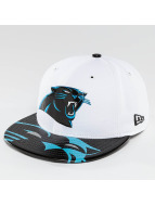 New Era Fitted Cap NFL Offical On Stage Carolina Panthers weiß