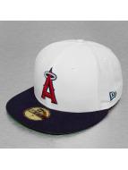 New Era Fitted Cap White Top Team Anaheim Angels wit