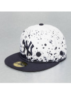 New Era Fitted Cap Panel Splatter NY Yankees wit