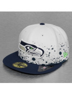 New Era Fitted Cap Splatter Seattle Seahawks wit