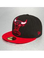 New Era Fitted Cap Big One HWC Chicago Bulls 59Fifty zwart