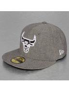 New Era Fitted Cap Chamsuede Chicago Bulls zwart