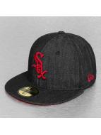 New Era Fitted Cap Denim Fit Chicago White Sox zwart
