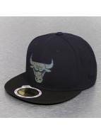 New Era Fitted Cap Team Chrome Chicago Bulls zwart