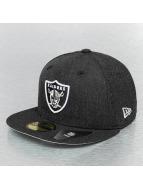 New Era Fitted Cap Heather Team Oakland Raiders zwart