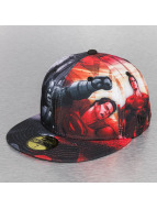 New Era Fitted Cap Allover Batman zwart