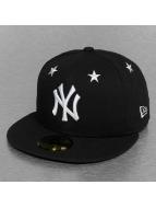 New Era Fitted Cap MLB NY Yankees Star Crown zwart