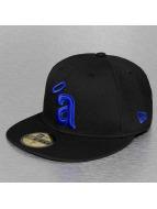 New Era Fitted Cap MLB Basic Anaheim Angels zwart