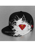 New Era Fitted Cap Splatways Superman zwart
