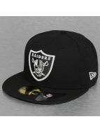 New Era Fitted Cap Glow In The Dark Oakland Raiders zwart