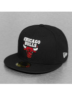 New Era Fitted Cap Glow In The Dark Chicago Bulls zwart