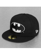 New Era Fitted Cap Glow In The Dark Batman zwart