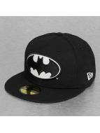 New Era Fitted Cap Glow In The Dark Batman zwart