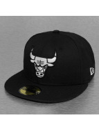 New Era Fitted Cap Chicago Bulls zwart