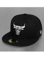 New Era Fitted Cap Chicago Bulls zwart