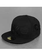 New Era Fitted Cap Patch NY Yankees zwart