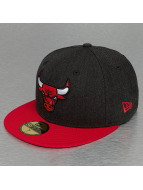 New Era Fitted Cap Heather Team Chicago Bulls 59Fifty zwart