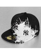 New Era Fitted Cap Splatways NY Yankees 59Fifty zwart
