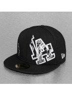 New Era Fitted Cap C-Note LA Dodgers 59Fifty zwart