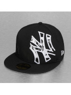 New Era Fitted Cap C-Note Insider NY Yankees 59Fifty zwart