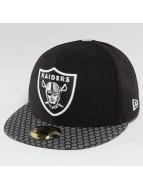 New Era Fitted Cap NFL On Field Oakland Raiders 59Fifty zwart
